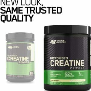 Micronised Creatine Powder 317g Optimum Nutrition 2