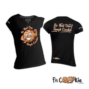women's-tshirts-be-that-one-tough-cookie-fit-cookie