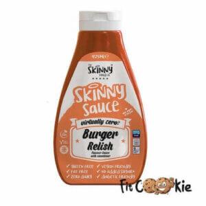 burger-relish-sauce-skinny-food