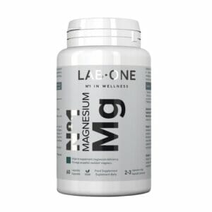 Lab One Magnesium Mg 60 Capsules.jpg