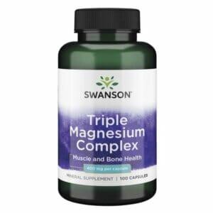 Triple Magnesium Complex 400 Mg 100 Capsules Swanson.jpg